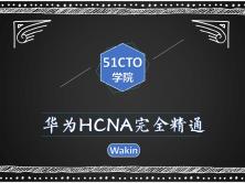 华为HCNA完全精通必备教程-Wakin出品