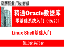 Linux Shell基础入门_Oracle数据库入门必备培训视频19