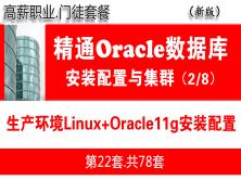 生產環境Linux+Oracle11gR2安裝配置與管理入門_Oracle數據庫視頻教程02
