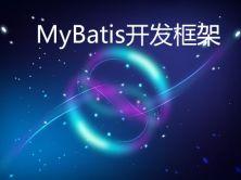MyBatis开发框架视频课程