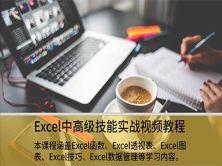 Excel中高级技能实战视频教程