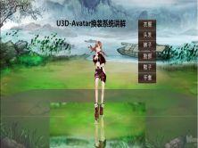 U3D-Avatar换装系统技术实现