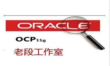老段帶你學OCP Oracle 11g全套培訓視頻課程