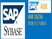 SAP Sybase ASE 15/16快速入門與演示視頻課程