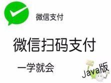 微信支付微信扫码支付视频课程(Java版)