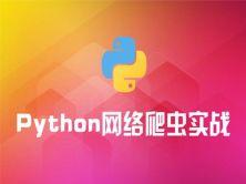 Python网络爬虫实战视频课程