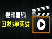 视频营销日发5单实战视频课程