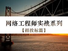 網絡工程師實戰系列視頻課程【招投標篇】