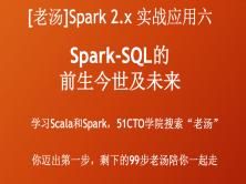 [老湯]Spark 2.x實戰應用系列六之Spark SQL的前生今世及未來