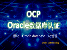 模块1OCP-Oracle database 11g管理