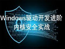 windows驱动开发进阶篇-内核安全视频课程