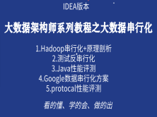 Hadoop大数据应用生态圈之串行化解决方案教程(必须掌握)