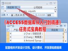 钟老师《ACCESS数据库从入门到精通》—任务式宝典教程