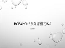 华为HCNP-HCIE视频课程之ISIS