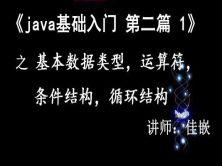 《Java基础入门》第二篇1  基本数据类型,运算符与表达式,条件结构,循环结构