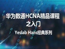 Yeslab_Hans華為數通HCNA/HCNP/HCIE經典系列之HCNA入門
