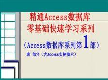 精通Access數據庫從零基礎學習系列第1部