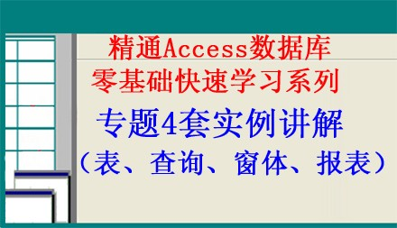 Access2003数据库专题4套实例讲解