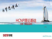 華為HCNP理論視頻之路由基礎