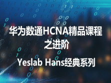 Yeslab_Hans华为数通HCIA/HCIP/HCIE经典系列之HCIA进阶