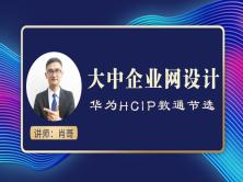 200人-500人规模园区网设计视频课程(肖哥 HCIP)