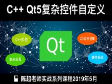 C++ Qt5进阶之复杂控件自定义