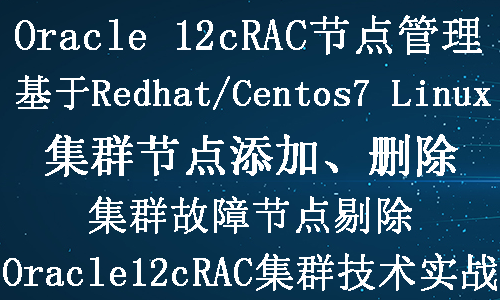 Oracle 12c RAC集群节点添加删除实战视频教程