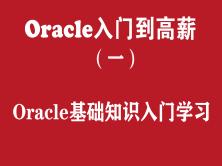 Oracle快速入门培训教程(一):Oracle基础知识入门学习教程