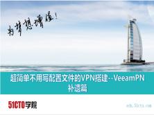 超簡單不用寫配置文件的VPN搭建--VeeamPN 補遺篇