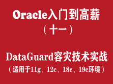 Oracle快速入门培训教程(十一):Oracle DataGuard容灾技术实战