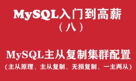 MySQL快速入门培训教程(八):MySQL主从复制集群配置