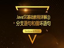 JavaSE基础视频精讲③:分支语句和循环语句