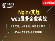 2019全新Nginx实战web服务企业实战