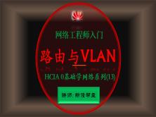 2021网络工程师入门HCIA 0基础学网络系列课程13:路由与VLAN综合项目【新任帮主】