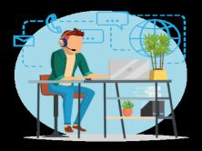 企业实战:收集服务器 客户端信息 统一桌面背景 显示有价值信息