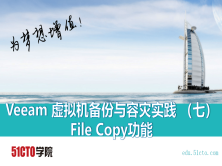 Veeam 虚拟机备份与容灾实践 (七)File Copy功能