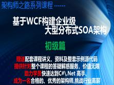 基于WCF構建企業級大型分布式SOA架構(初級篇)