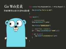 Go Web实战视频教程