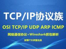 第07章 TCP、IP協議族詳解視頻課程(OSI、TCP 、UDP、IP、ARP、ICMP等)