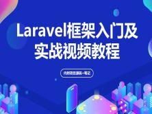 全方位解读Laravel框架及实战视频教程(内附项目源码+笔记)