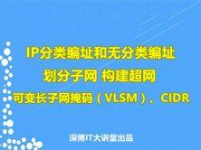第08章 IP分类编址和无分类编址视频课程(子网划分、超网、VLSM、CIDR)