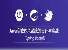 Java商城秒杀系统的设计与实战视频教程(SpringBoot版)
