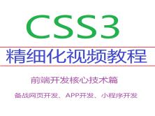 【必看】2020年新型前端核心技术-CSS3动画特效响应式自适应项目实战