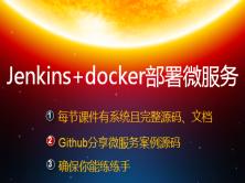 Jenkins+Docker部署微服務