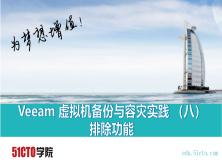 Veeam 虚拟机备份与容灾实践 (八)排除功能