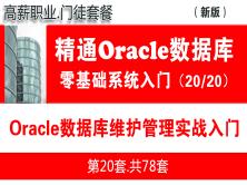Oracle日常維護管理(實戰)入門_Oracle數據庫基礎入門培訓課程20
