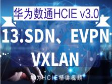 华为数通HCIE v3.0 精讲课程之13——SDN、EVPN、VXLAN