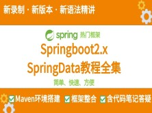 Spring Boot + Spring Data JPA精讲