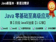JavaSE基础全套视频(环境搭建  面向对象 正则表达式  IO流 多线程 网络编程 java10