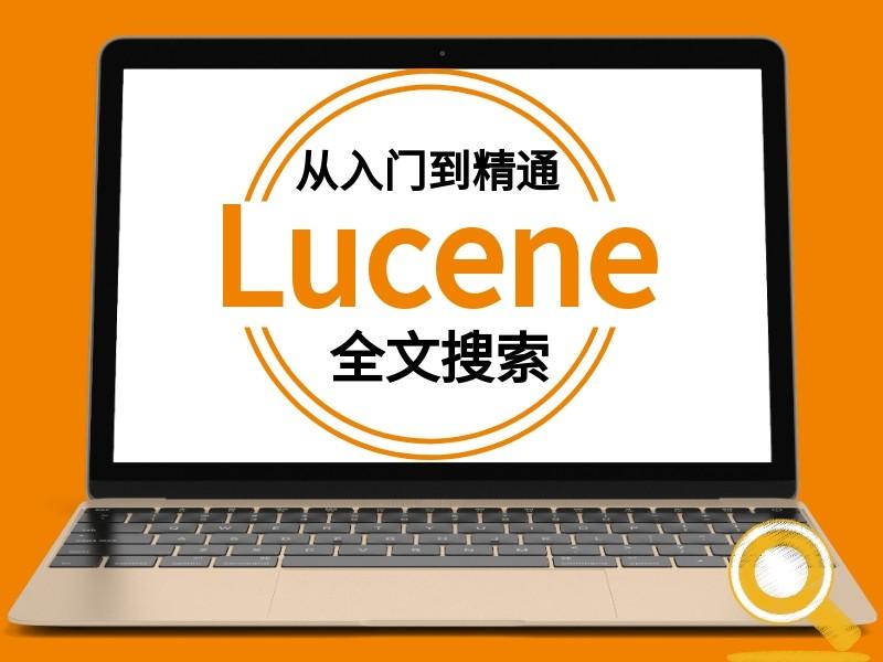 Lucene全文检索从基础与实战视频课程(精细讲解含代码笔记)